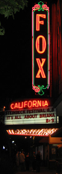 Historic Fox Theater Downtown Salinas